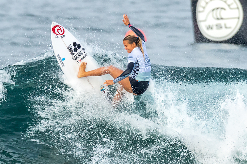 Pauline Ado, US Open of Surfing, Huntington Beach, Day 8