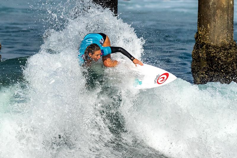 Nikki Van Dijk, US Open of Surfing, Huntington Beach, Day 8
