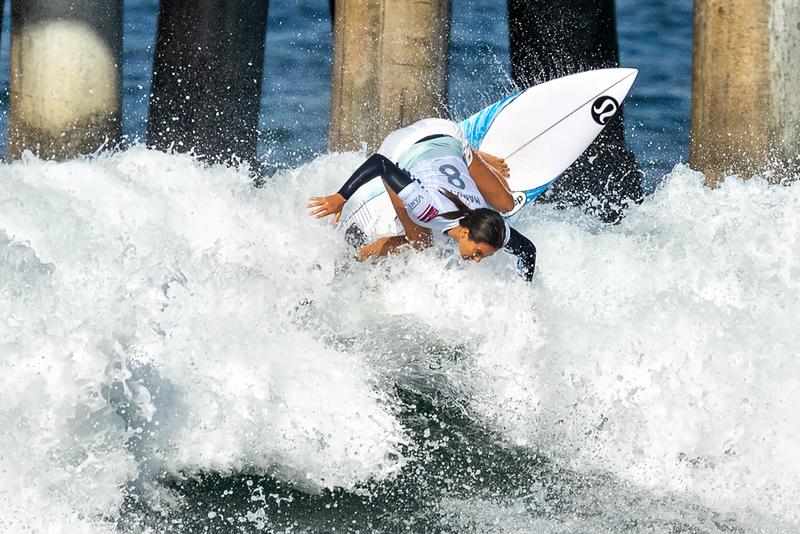 Malia Manuel, US Open of Surfing, Huntington Beach, Day 8