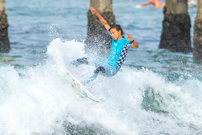 Sally Fitzgibbons, US Open of Surfing, Huntington Beach, Day 8