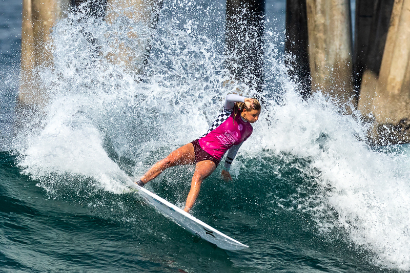 Lakey Peterson, US Open of Surfing, Huntington Beach, Day 8