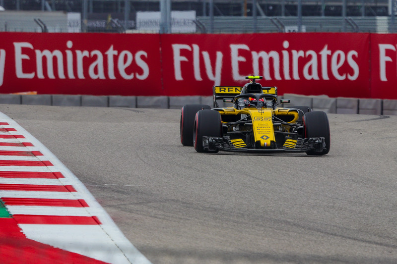 Carlos Sainz is the number 2 driver for Team Renault.