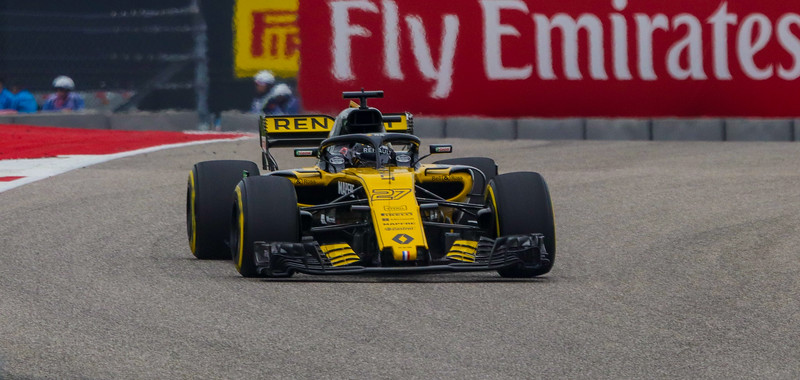 Nico Hulkenberg is the primary driver for team Renault.