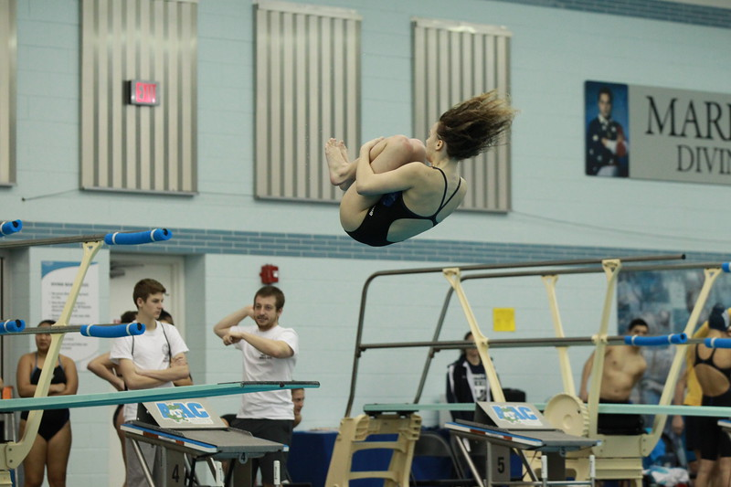 Girls Diving - Friday Warmups and Finals