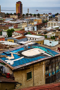 But its hills house one of the most intriguing collections of street art in the world