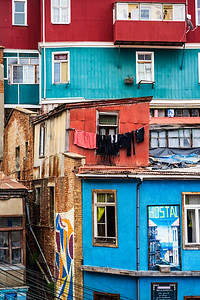 Home to seven universities, at first glance Valparaiso looks like a color Latin American town