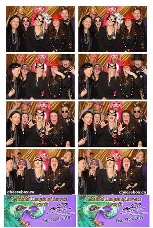 2018 WB LOS Awards - Mardi Gras Style