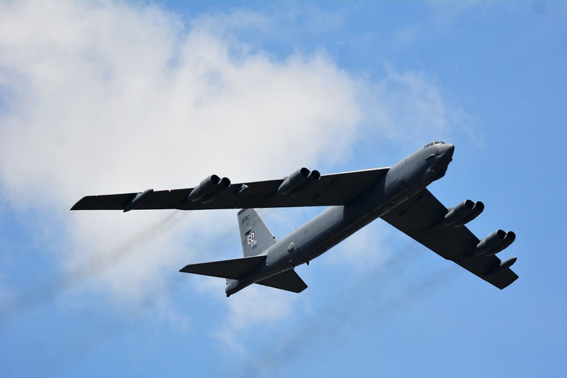 The mean and might Boeing B-52 Bomber!