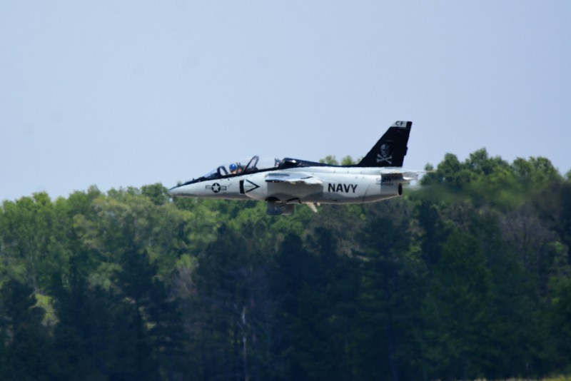 This is the Navy's S-211 Marchetti which was a trainer jet.