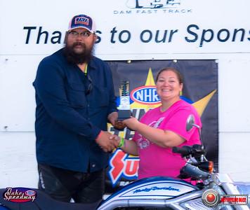 Ken Lawrence, Rapid City, SD - R/U - Oahe Speedway Bike/Sled Shootout