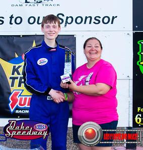 Evan Huse, Onida, SD - Winner - Oahe Speedway Junior Shootout