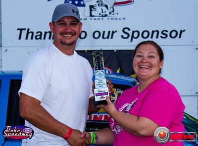 Jeremy Nygaard, Watertown, SD - Winner - Oahe Speedway Trophy Shootout