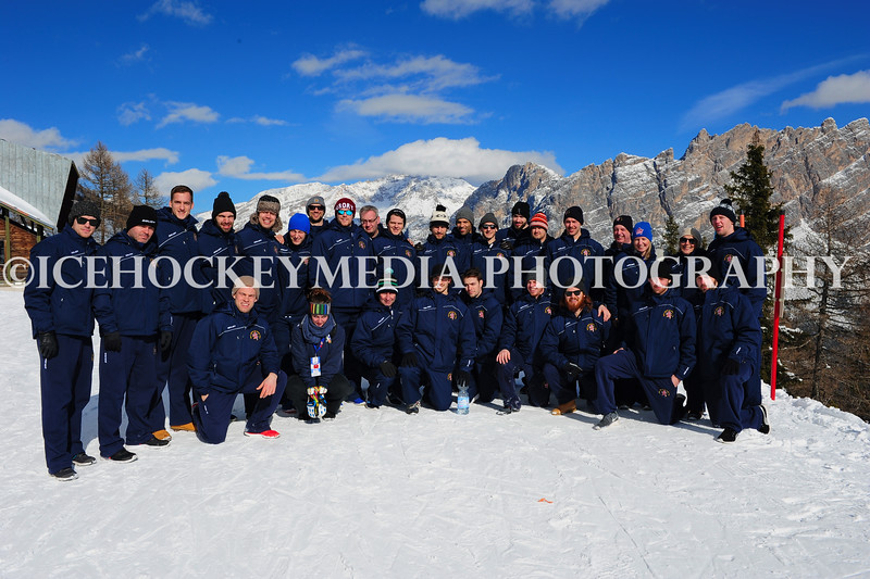 Team GB on Dolomiti Superski