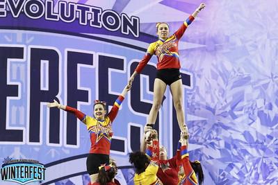 Chatham Inspire Cheer Damaged Parent NC