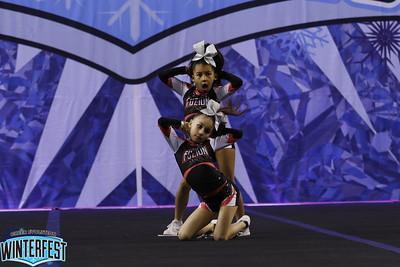 Cheer Fuzion AllStars Adenike & Malory Mini Duo 1
