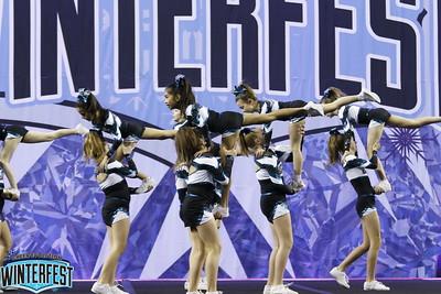 Cheer Sport Blacktip Sharks Youth Medium 1