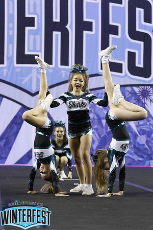 Cheer Sport Frilled Sharks Junior X-Small 1