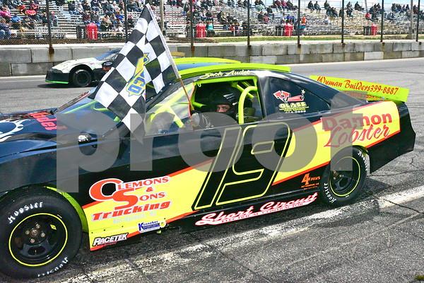 2nd Race Victory Lane April 28, 2018