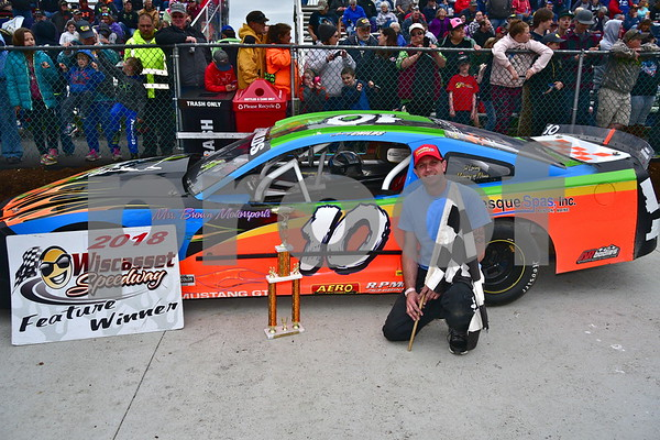 6th Race Victory Lane May 27, 2018