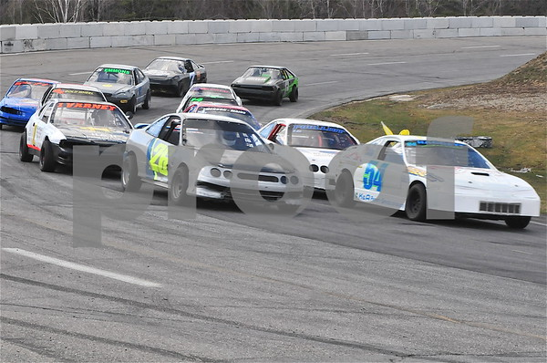 First Race Track April 21, 2018