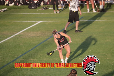 3/27/2018; Lakeland, Fla.; University of Tampa women's lacrosse at Florida Southern College