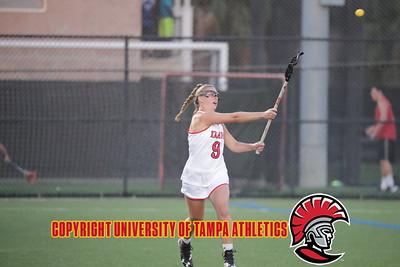 3/23/2018; Tampa, Fla.; University of Tampa women's lacrosse vs. University of Alabama Huntsville.