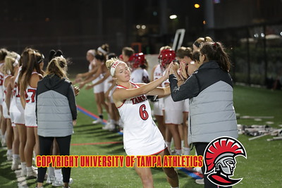 3/5/2018; Tampa, Fla.; University of Tampa women's lacrosse vs. Tusculum.