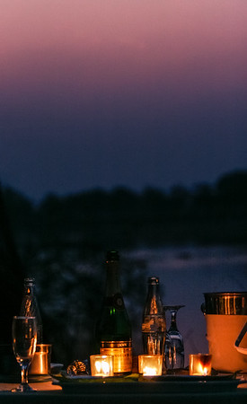 Moody Evening Along The  Luangwa