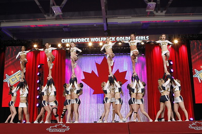 CheerForce WolfPack Golden Girls Intl Open 5