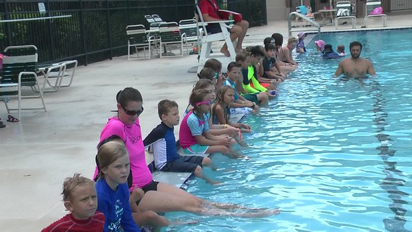 2018 World's Largest Swim Lesson
