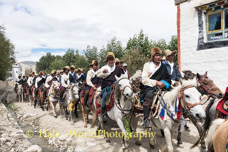 Afternoon Procession Through Lo Manthang