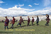 Traditional Dance On The Tibetan Plateau