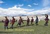 Traditional Dance On The Tibetan Plateau