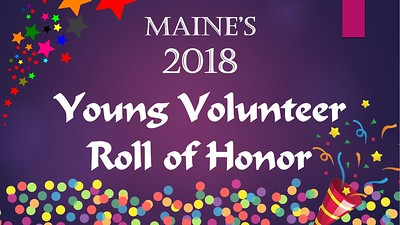 2018 Young  Maine Volunteer Roll of Honor