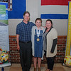 Youth Volunteer, Jacqueline Chadwick, with her parents Adam and Brittany.