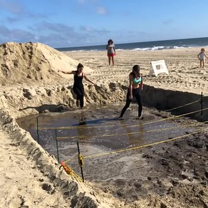 Videos: 2018 Your First Mud Run at Long Branch Beach in NJ 9/16/2018