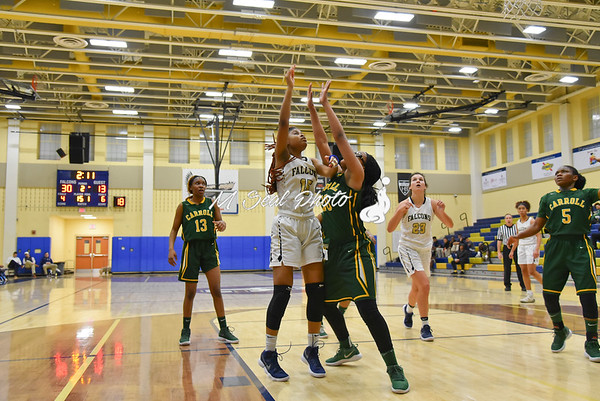 Good Counsel (MD) vs. Carroll (DC) girls basketball