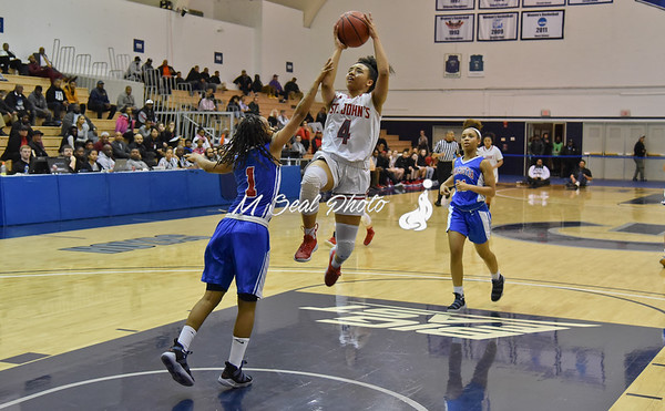St. John's (DC) vs. Anacostia (DC) girls basketball
