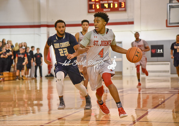 St. John's (DC) vs. Good Counsel (MD) boys basketball
