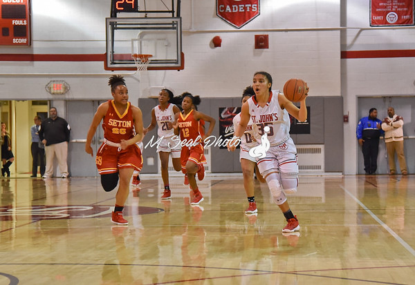 St. John's (DC) vs. Seton (MD) girls basketball
