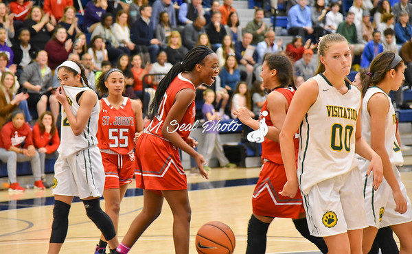 St. John's (DC) vs. Visitation (DC) girls basketball