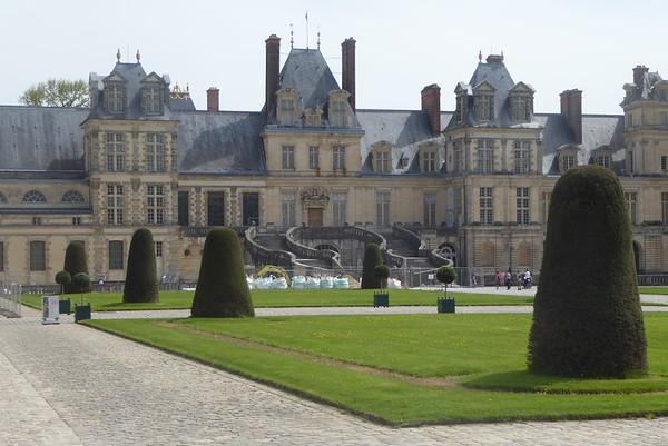 2018  chateau de FONTAINBLEAU