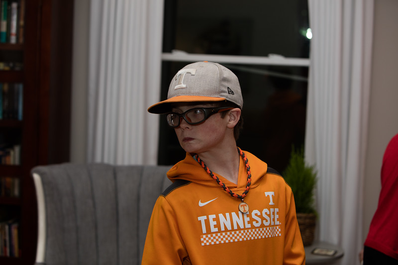 Liam is a Tennessee Fan