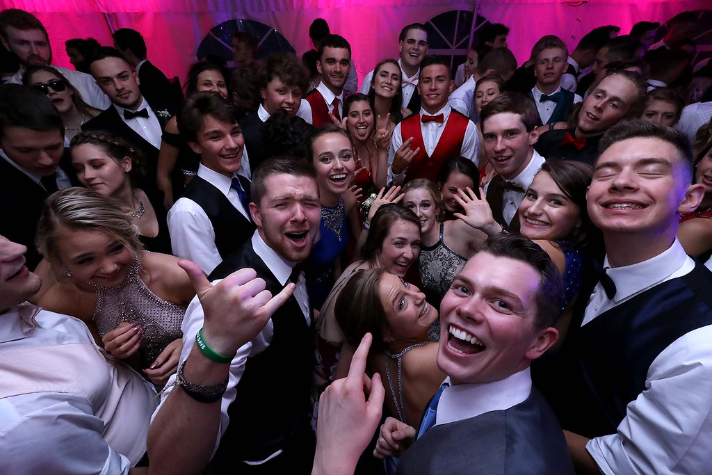 . Oakmont Regional High School Prom was held a Wachusett Mountain in Princeton on Saturday, May 20, 2018. many of the students enjoyed dancing the night away. SENTINEL & ENTERPRISE/JOHN LOVE
