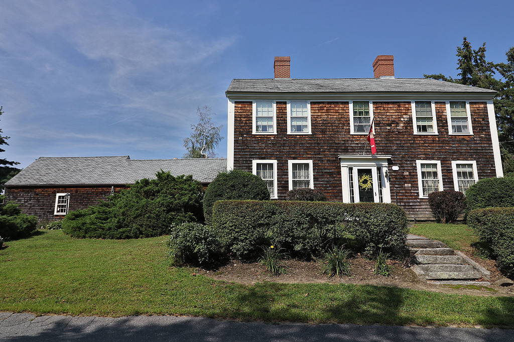 . The house at 1183 Pleasant Street in Leominster next to Sholan Farms. SENTINEL & ENTERPRISE/JOHN LOVE