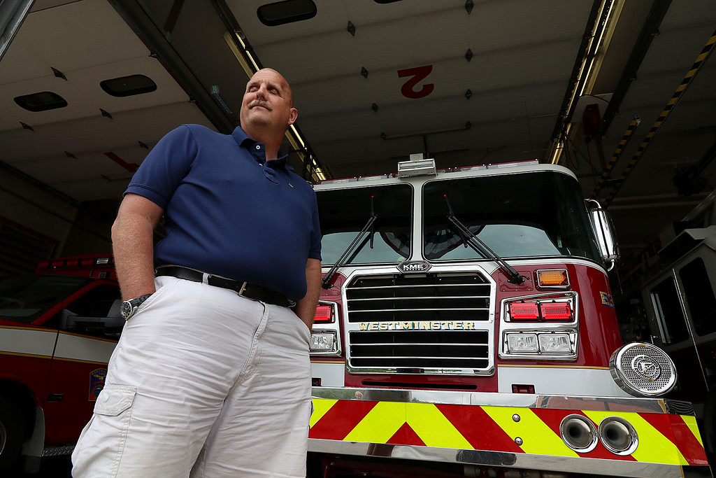 . Retired Westinster Fire Chief Kevin Nivala. SENTINEL & ENTERPRISE/JOHN LOVE