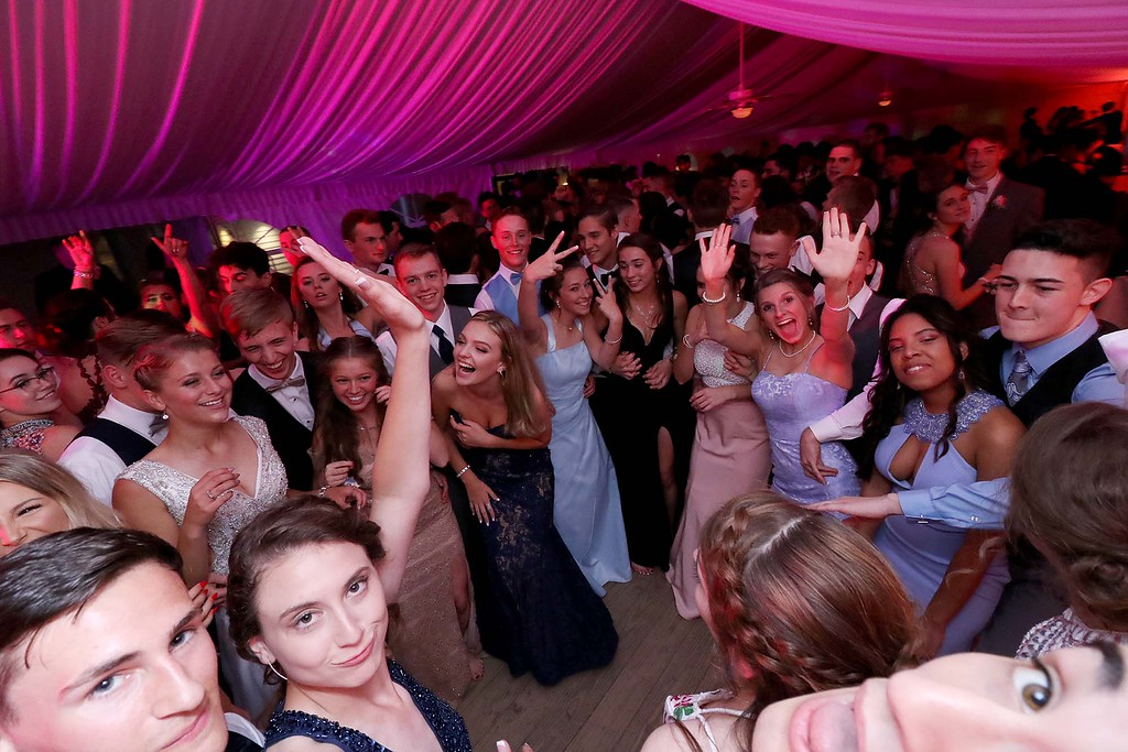 . Oakmont Regional High School Prom was held a Wachusett Mountain in Princeton on Saturday, May 20, 2018. SENTINEL & ENTERPRISE/JOHN LOVE