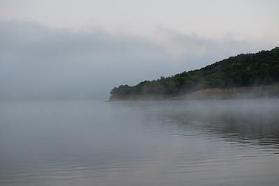09-28-2018 fog at Elk City Lake