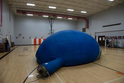 2018-10-5 Earthballoon at Eisenhower