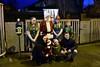Passengers pose with Santa at Maynooth. Sat 08.12.18
